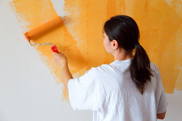các bước sơn nhà
