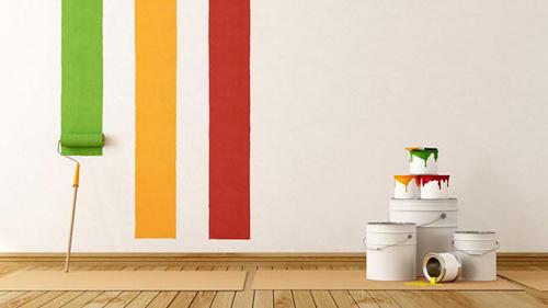 cách sơn tường nhà