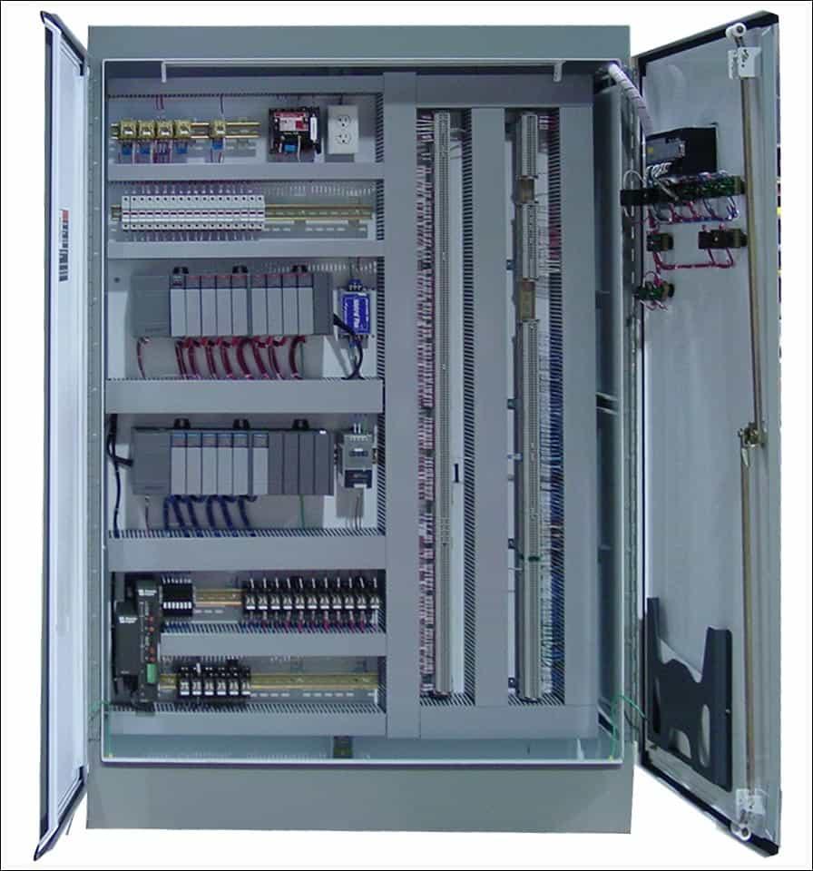 Tủ điện điều khiển hệ thống tự động hóa 5