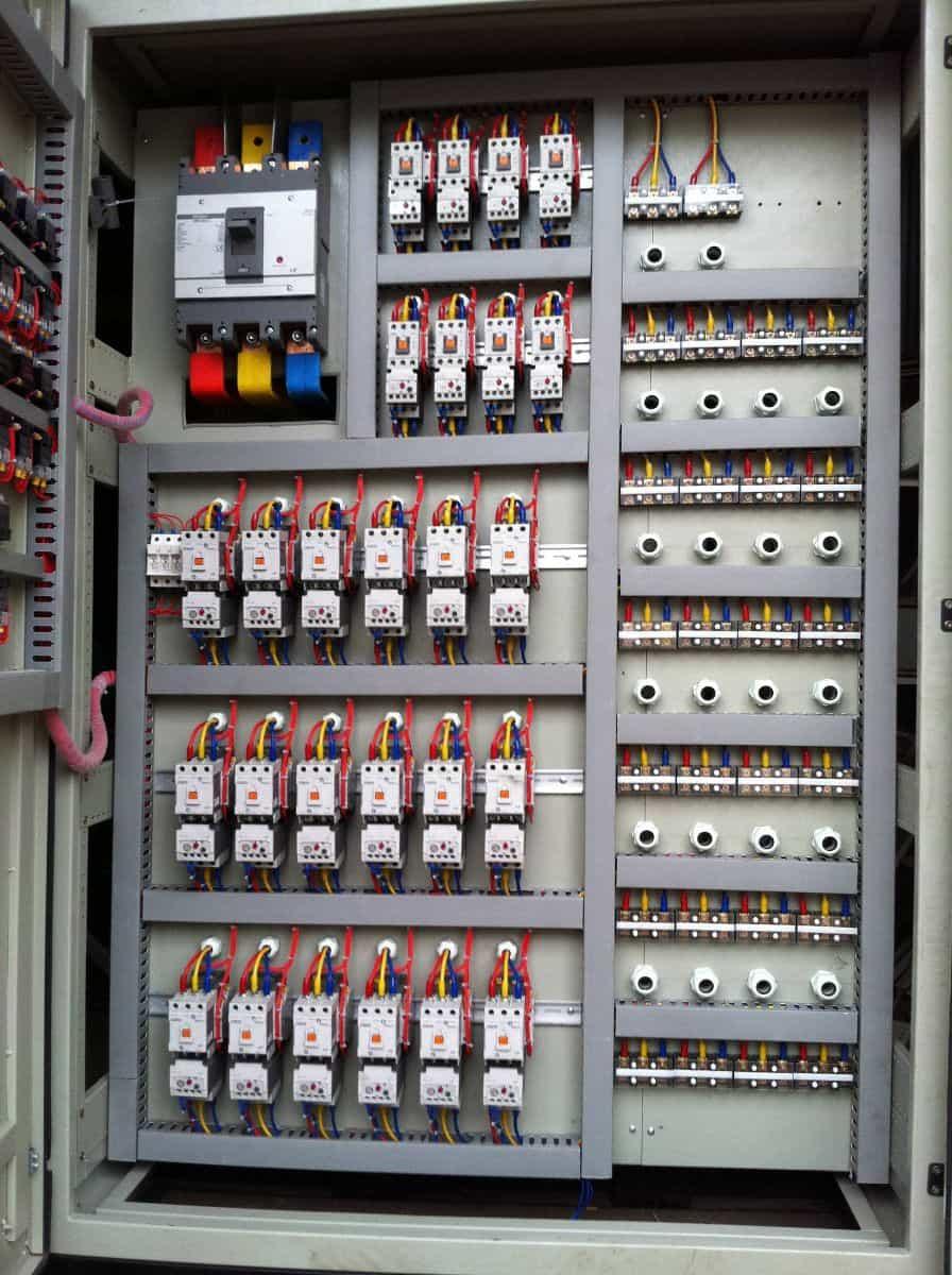 Tủ điện điều khiển hệ thống tự động hóa 3