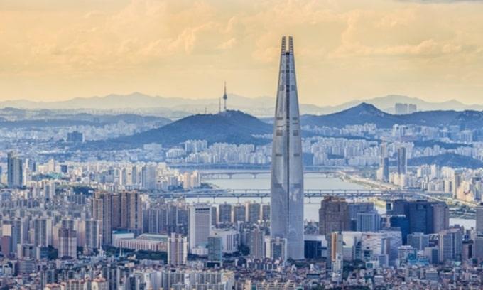 Tháp Lotte World (Seoul, Hàn Quốc)