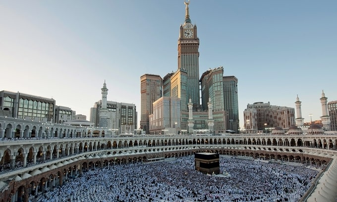 Tháp đồng hồ Makkah Royal (Mecca, Saudi Arabia)