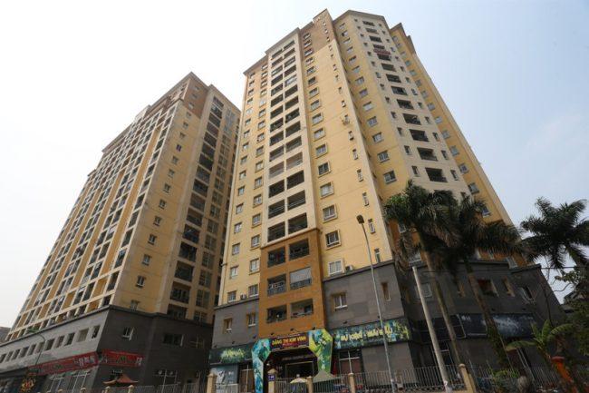 Giá quản lý chung cư tại Hà Nội
