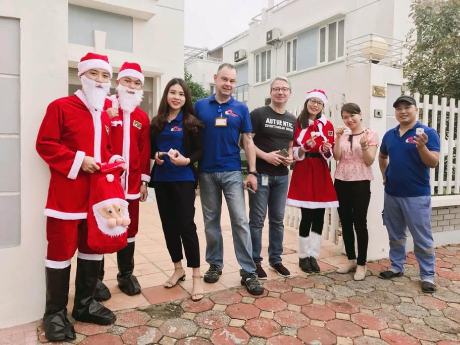Quà giáng sinh tại PSA