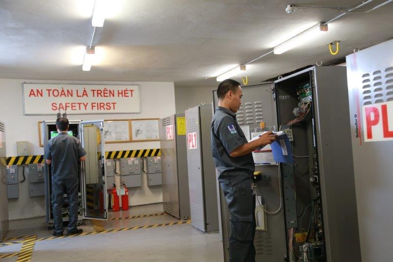 Quy trình vận hành của dịch vụ kỹ thuật tòa nhà