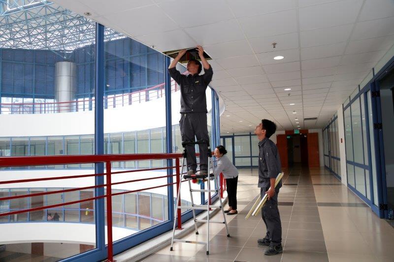 Quy trình quản lý tòa nhà.