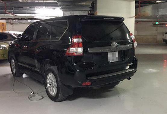 Chiếc Toyota chủ xe báo bị mất. Ảnh: NVCC