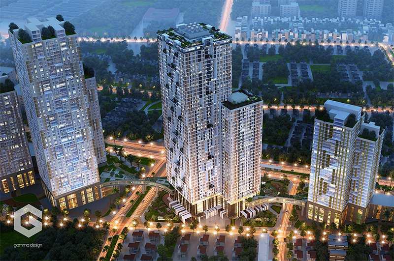 Chung cư HPC Landmark Tower 105 cao nhất tại Hà Đông