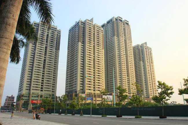 Tòa tháp The Pride D với quy mô45 tầng, có chiều cao 160m thuộc top các tòa nhà cao nhất Hà Nội