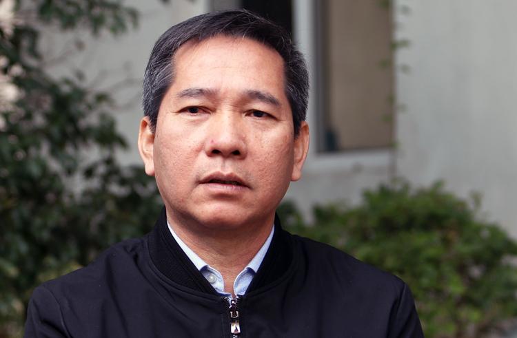 Phó giám đốc Sở Xây dựng Hà Nội Nguyễn Chí Dũng. Ảnh: Võ Hải.