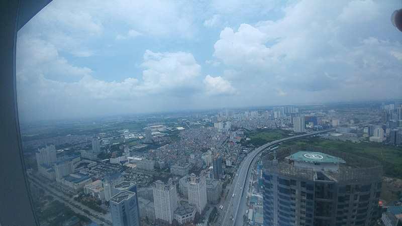Một góc Hà Nội nhìn từ nóc nhà của Hà Nội