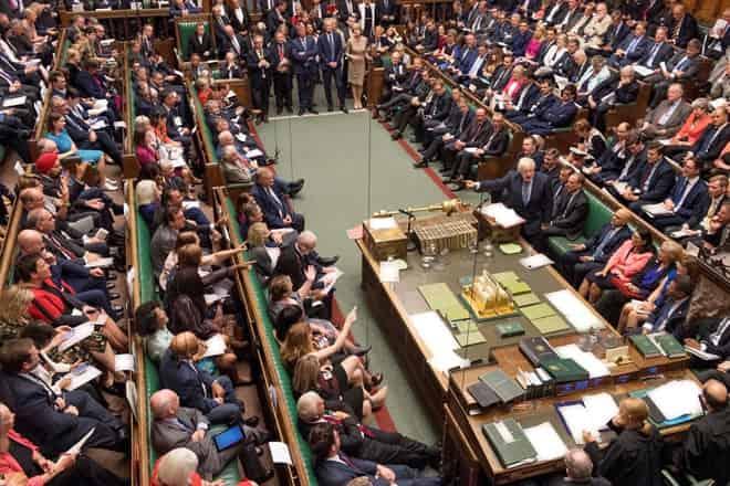Một phiên họp trong quốc hội Anh