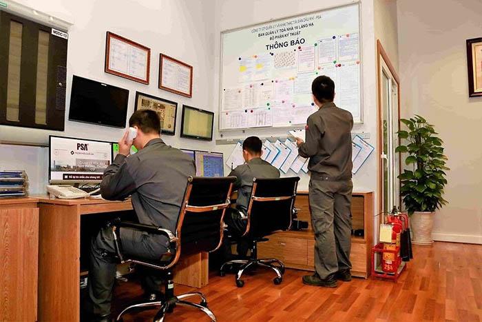 Đội ngũ nhân viên của PSA là những người có chuyên môn cao, tuổi nghề cao.